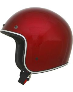 AFX FX-76 Open Face Helmet Solid Gloss Red