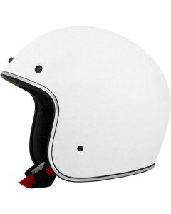 AFX FX-76 Open Face Helmet Solid Gloss White