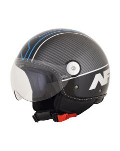 AFX FX-33 Scooter Helmet Veloce Gloss Black/Blue