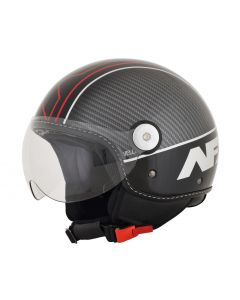 AFX FX-33 Scooter Helmet Veloce Gloss Black/Red