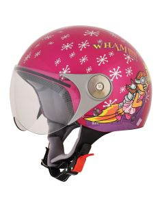 AFX FX-33 Y Scooter Helmet Rocket Girl Gloss Pink