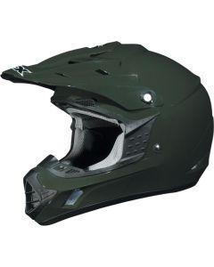 AFX FX-17 Offroad Helmet Solid Gloss Green