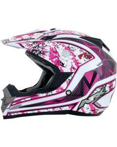 AFX FX-19 Full Face Helmet Vibe Gloss Pink