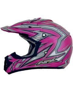 AFX FX-17 Offroad Helmet Factor Gloss Pink