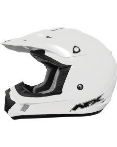 AFX FX-17 Offroad Helmet Solid Gloss White
