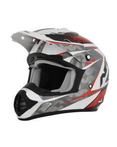 AFX FX-17 Offroad Helmet Factor Gloss Red