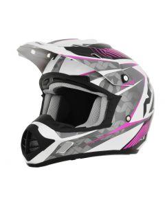 AFX FX-17 Offroad Helmet Factor Gloss Fuscia