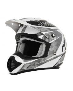 AFX FX-17 Offroad Helmet Factor Gloss Silver