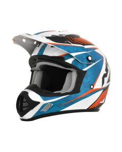 AFX FX-17 Offroad Helmet Complex Gloss Orange/Blue/White