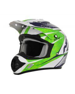 AFX FX-17 Offroad Helmet Complex Gloss Green/Blue/White