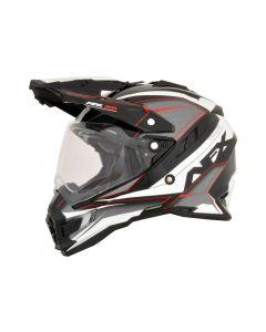 AFX FX-41DS Dual Sport Helmet Eiger Gloss Red/Black/White