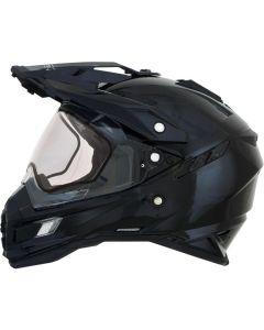AFX FX-41 DS-S Full Face Helmet Solid Gloss Black