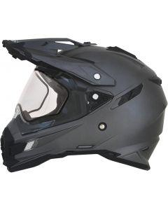 AFX FX-41 DS-S Full Face Helmet Solid Gloss Gray