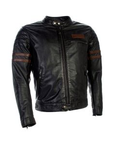 Richa Curtiss Mens Leather Jacket Black/Brown
