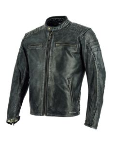 Richa Daytona 60S Mens Leather Long Sleeve Jacket Black 54