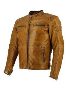 Richa Daytona 60S Mens Leather Long Sleeve Jacket Cognac 54