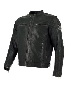 Richa Goodwood Mens Leather Long Sleeve Jacket Black 54