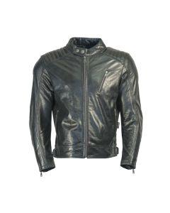 Richa Hipster Mens Leather Long Sleeve Jacket Black 54