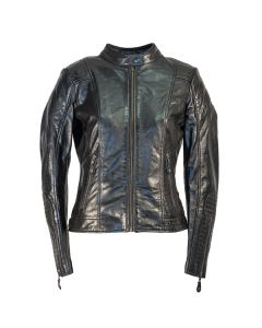 Richa Lausanne Ladies Leather Long Sleeve Jacket Black 20