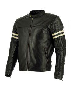 Richa Lincoln Mens Leather Long Sleeve Jacket Black 36