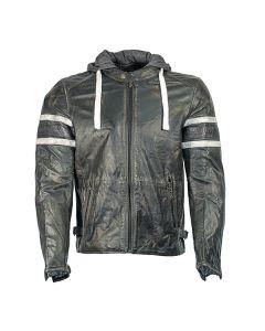 Richa Toulon Mens Leather Long Sleeve Jacket Black 36