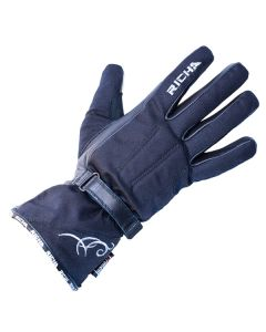 Richa Carmen Ladies Textile Glove Black