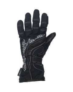 Richa Elegance Ladies Textile Glove Black/Grey