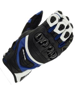 Richa Stealth Leather Black/White/Blue