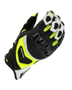 Richa Stealth Leather Black/White/Yellow
