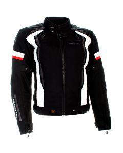 Richa Airwave Mens Textile Jacket Black/White/Red