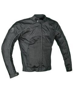 Richa Summer Breeze Mens Textile Long Sleeve Jacket Black