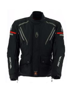Richa Cyclone GTX Mens Textile Long Sleeve Jacket Black