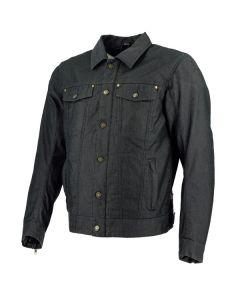 Richa Denim Legend Mens Textile Long Sleeve Jacket Black