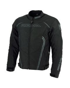 Richa Gotham Mens Textile Long Sleeve Jacket Black