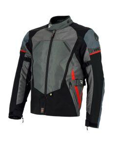 Richa Scirocco Mens Textile Long Sleeve Jacket Black/Grey
