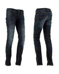 Richa Skinny Ladies Textile Trousers  Blue
