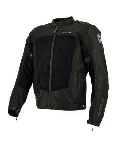 Richa Airbender Breeze Mens Textile Long Sleeve Jacket Black