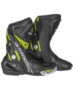 Richa Blade W/P Leather Boot Black/Fluorescent