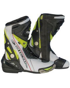 Richa Blade W/P Leather Boot White/Black/Fluorescent