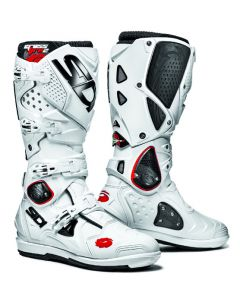 Sidi Crossfire 2 SRS Textile Boot White/White