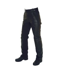 Richa Freedom  Short Regular Fit Leather Trousers Black