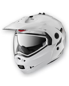 Caberg Tourmax Flip Up Helmet  Metal White