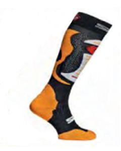 Sidi Textile Faenza Socks Black/Orange EC 38-42
