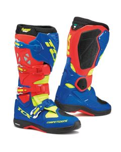 TCX Comp Evo Michelin  Boot Red/Blue