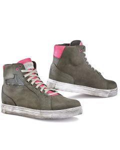 TCX Ladies Street Ace  Boot Green/Fuscia