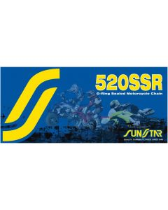 SUNSTAR SPROCKETS CLIP LINK 520SSR STEEL