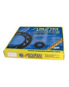 SUNSTAR SPROCKETS CHAIN KIT STEEL PLUS