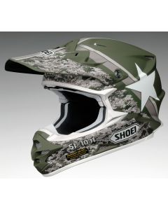 Shoei VFX-W Offroad Helmet Super Hue TC4  Green
