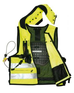 Spidi Neck DPS Vest Body Armour Fluorescent M