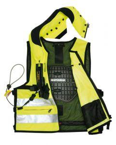Spidi Neck DPS Vest Body Armour Fluorescent M